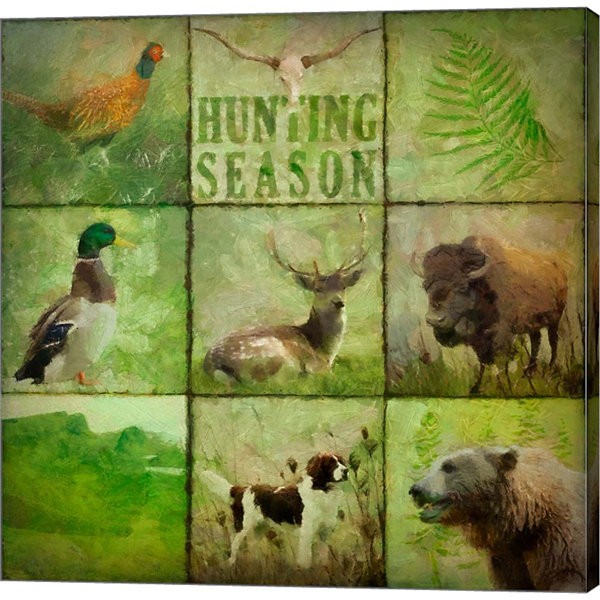 Metaverse Art Hunting Season Gallery Wrap Canvas Wall Art