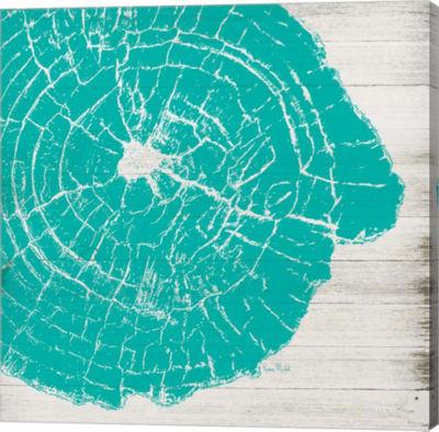 Metaverse Art Tree Rings IV Gallery Wrap Canvas Wall Art