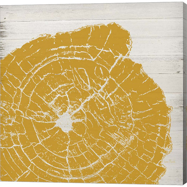 Metaverse Art Tree Rings I Gallery Wrap Canvas Wall Art