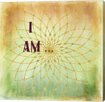 Metaverse Art I Am Gallery Wrap Canvas Wall Art