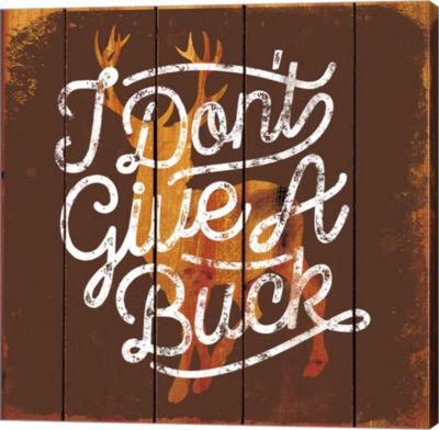 Metaverse Art Don't Give a Buck Gallery Wrap Canvas Wall Art