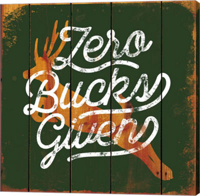 Metaverse Art Zero Bucks Here Gallery Wrap Canvas Wall Art