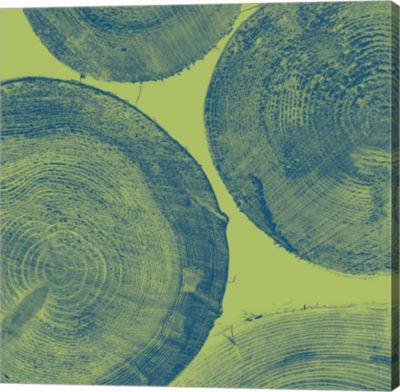 Metaverse Art Green Gallery Wrap Canvas Wall Art