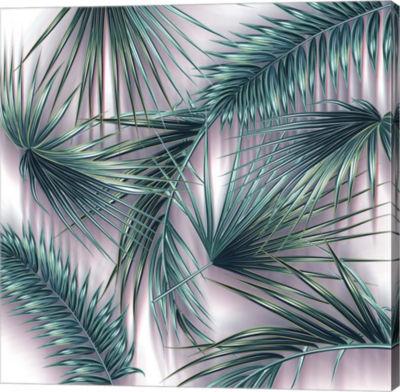 Metaverse Art Tropical Vector Gallery Wrap Canvas wall Art