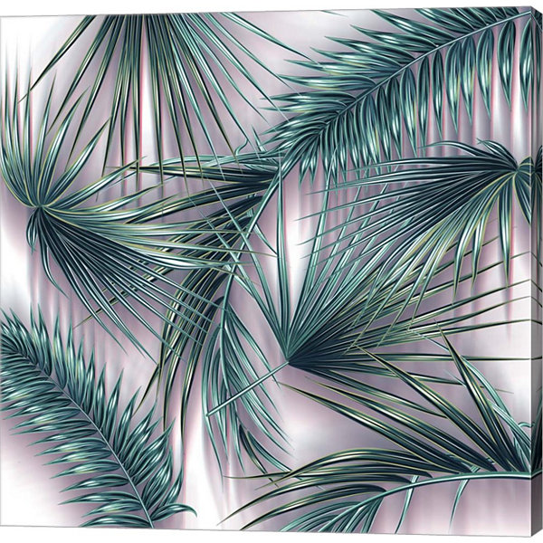 Metaverse Art Tropical Vector Gallery Wrap Canvas wall Art