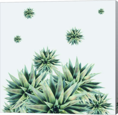 Metaverse Art Tropical Stars Gallery Wrap Canvas Wall Art