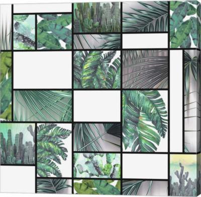 Metaverse Art Cool Tropic Gallery Wrap Canvas WallArt