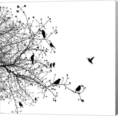 Metaverse Art Bird I Gallery Wrap Canvas Wall Art