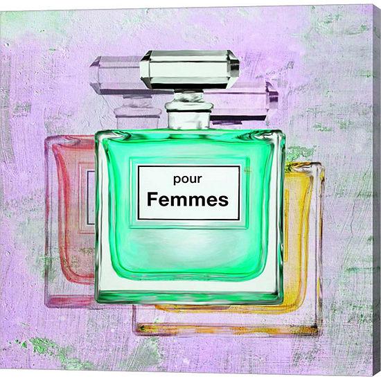 Metaverse Art Pour Femmes II Gallery Wrap Canvas Wall Art