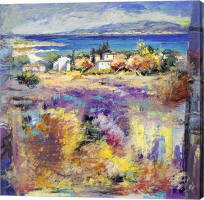 Metaverse Art Costa Mediterranea Gallery Wrap Canvas Wall Art