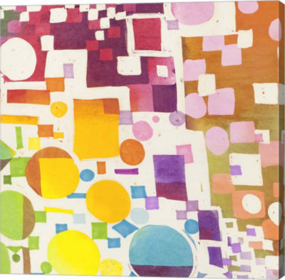 Metaverse Art Glam Slam II Gallery Wrap Canvas Wall Art