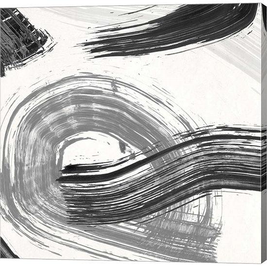 Metaverse Art Happening (detail 1) Gallery Wrap Canvas Wall Art