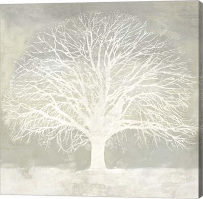 Metaverse Art White Oak Gallery Wrap Canvas Wall Art