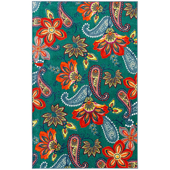 Mohawk Home New Wave Whinston Printed Rectangular Indoor Rugs