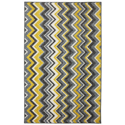 Mohawk Home New Wave Ziggidy Printed Rectangular Rugs