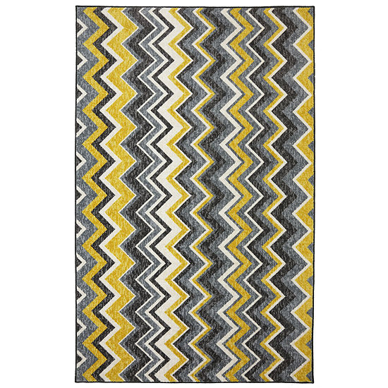 Mohawk Home New Wave Ziggidy Printed Rectangular Indoor Rugs