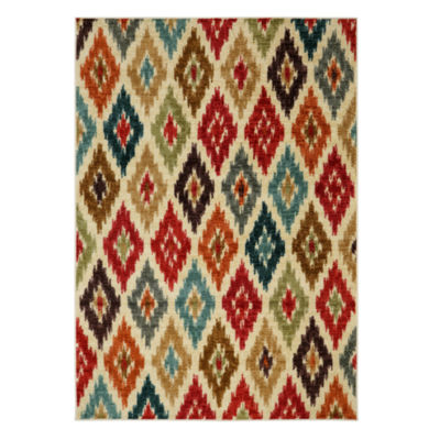 Mohawk Home Strata Carnaval Printed Rectangular Rugs