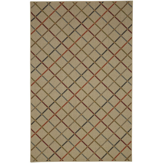 Mohawk Home Soho Alistar Plaid Printed Rectangular Rugs