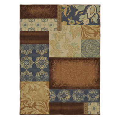 Mohawk Home Soho Gwendolyn Patches Printed Rectangular Rugs