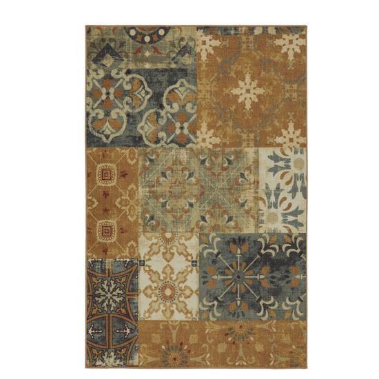 Mohawk Home Soho  Harmonic Patch Printed Rectangular Rugs