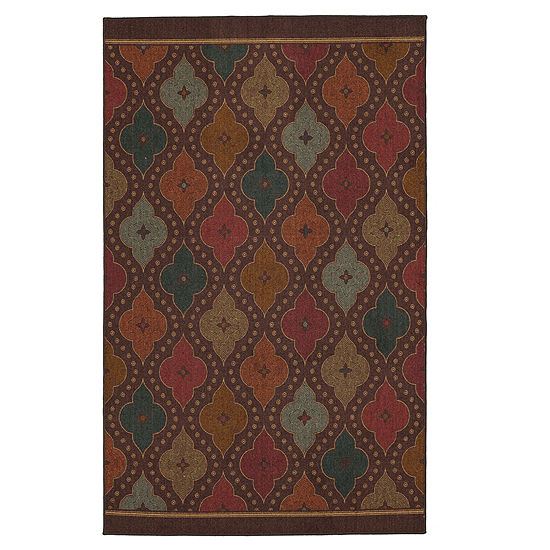Mohawk Home Soho Jewel Medallion Printed Rectangular Indoor Rugs