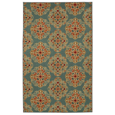 Mohawk Home Soho Kolam Printed Rectangular Rugs