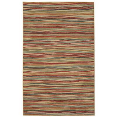 Mohawk Home Soho Melody Stripe Printed Rectangular Indoor Rugs