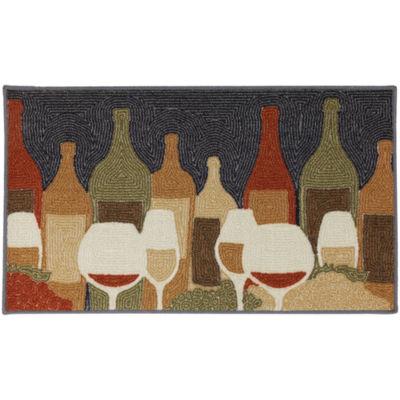 Mohawk Home Soho Wine Play Printed Rectangular Rugs
