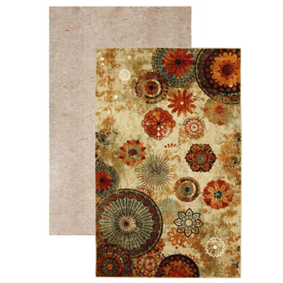 Mohawk Home Strata Caravan Medallion Printed Rectangular 2-pc. Rug Set