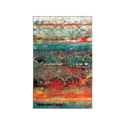 Mohawk Home Strata Eroded Color Printed Rectangular 2-pc. Rug Set
