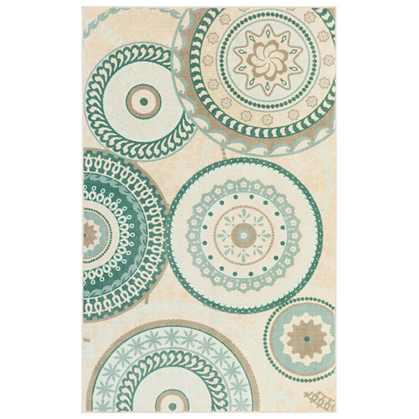Mohawk Home Aurora Forest Suzani Rectangular Rugs