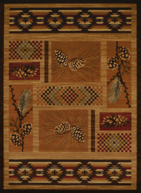 United Weavers Affinity Collection El Paso Pine Rectangular Rug
