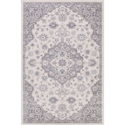 Concord Global Trading Lara Collection Center Medallion Area Rug