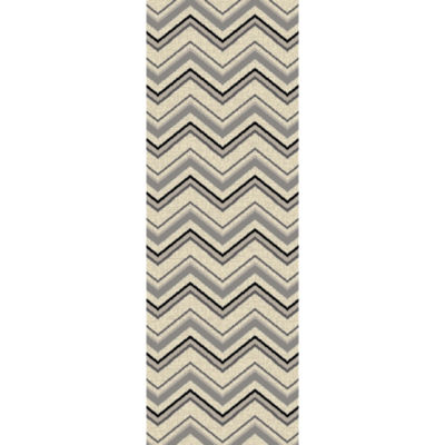 Concord Global Trading Lumina Collection Zig Zag Area Rug