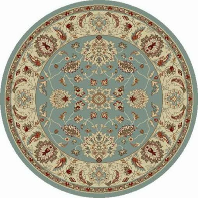 Concord Global Trading Chester Collection Oushak Round Area Rug