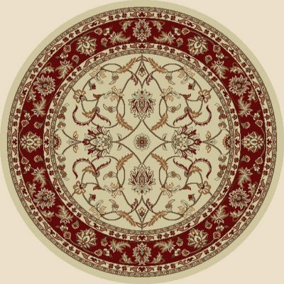 Concord Global Trading Chester Collection Sultan Round Area Rug