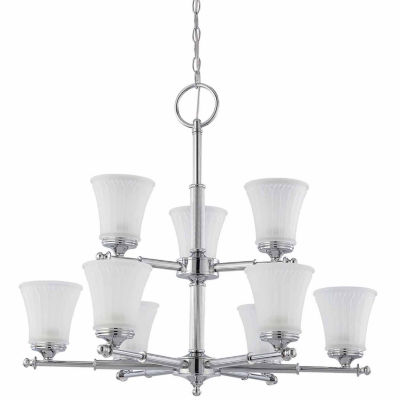 Filament Design 9-Light Polished Chrome Chandelier
