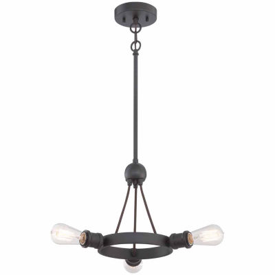 Filament Design 3-Light Aged Bronze Pendant