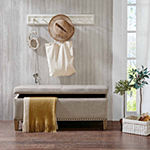 Madison Park Tessa Tufted Top Storage Bench
