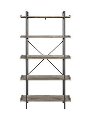 "68"" Urban Pipe 5-Shelf Bookshelf"