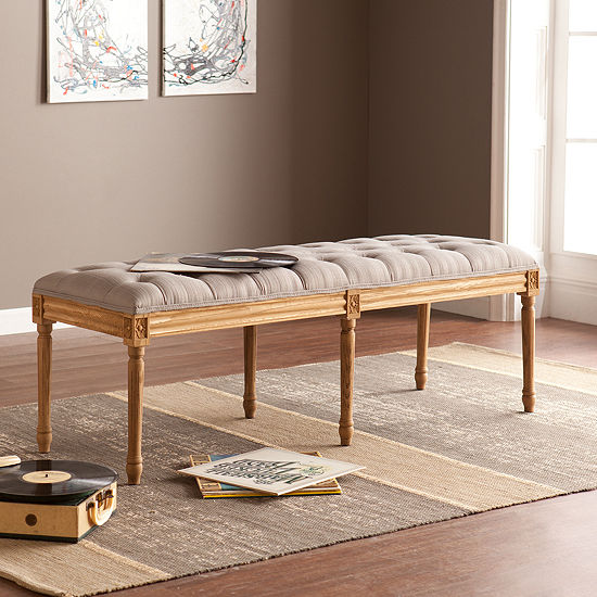 Modern Life Furniture Upholstered Bench