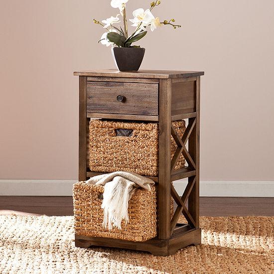Home Décor Collections Basket Storage Shelf