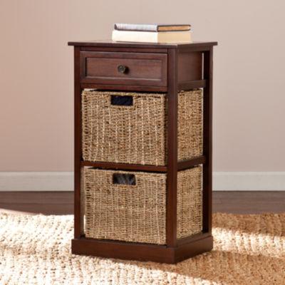 Southlake Furniture 2-Basket Storage Shelf