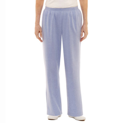 Alfred Dunner Pastel Skies Relaxed Fit Knit Pull-On Pants - Misses Short