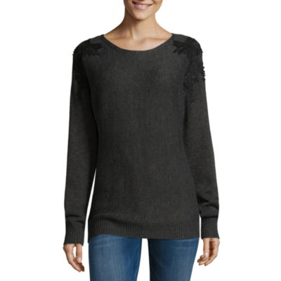 Alyx Long Sleeve Round Neck Pullover Sweater