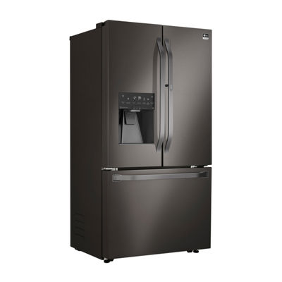 LG STUDIO ENERGY STAR®  23.5 cu. ft. Smart Wi-Fi Enabled Counter-Depth 3-Door French-Door Refrigerator with Door-in-Door®