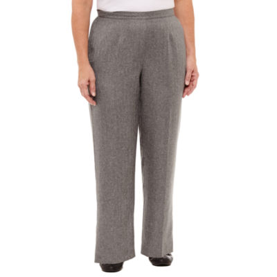 Alfred Dunner Silver Bells Classic Fit Pull-On Pants-Plus