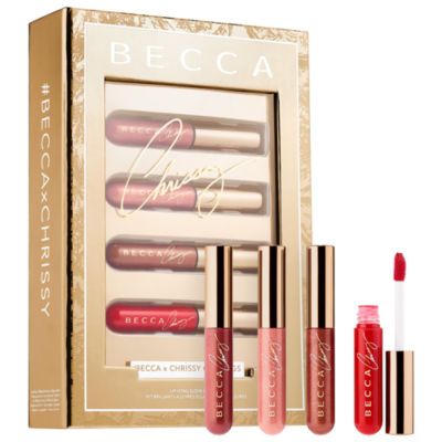 BECCA Lip Icing Glow Gloss Kit - Becca x Chrissy Teigen