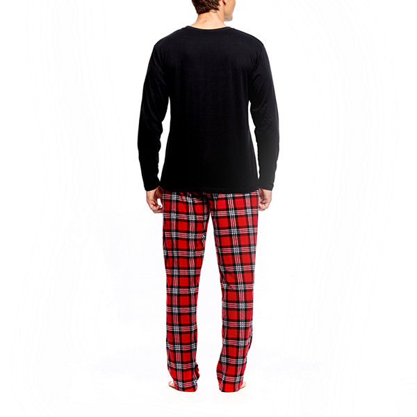 Holiday Famjams Santa 2 Piece Pajama Set -Men's
