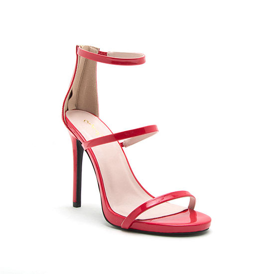 Qupid Womens Cece-16x Heeled Sandals